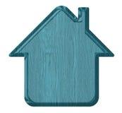 Домашний значок, бирка иллюстрация вектора