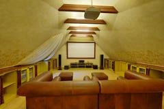 Домашний кинотеатр Стоковое Изображение RF