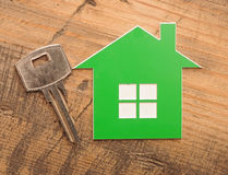 Домашний ключ Стоковое фото RF