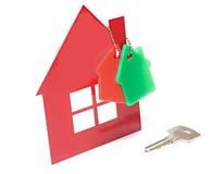 Домашний ключ Стоковое Фото