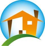 Домашний логос Стоковые Фото