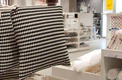 Домашний магазин постельных принадлежностей Стоковое фото RF