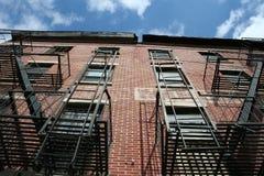 домашний новый типичный york стоковые фотографии rf