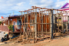 Домашний обрамлять конструкции стоковое изображение
