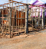 Домашний обрамлять конструкции стоковая фотография rf