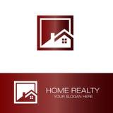 Домашний логотип недвижимости Стоковое Изображение RF
