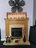 Домашний дом cosey где сердце Стоковые Фото