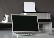 домашний офис стола Стоковое фото RF