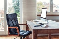 Домашний офис Стоковая Фотография