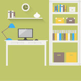 Домашний офис 2 Стоковое фото RF