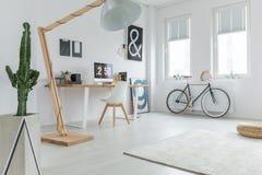 Домашний офис ` s блоггера Стоковые Изображения