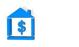 Домашний доллар бюджета Стоковая Фотография RF