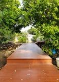 Домашний путь сада стоковые фотографии rf