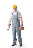 домашний ремонт человека Стоковое фото RF