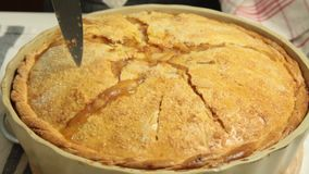 Домашний сделанный яблочный пирог видеоматериал