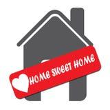 Домашний сладостный домашний значок Стоковое Фото