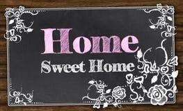Домашний сладостный дом с путем клиппирования Стоковая Фотография