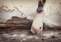 Домашний улучшать, ремонт стены Стоковые Изображения