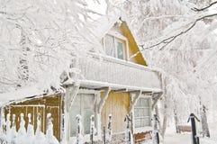 домашний s santa Стоковая Фотография