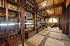 Домашняя библиотека Стоковые Фотографии RF