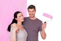 Домашняя восстанавливая краска Стоковые Фотографии RF