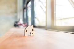 Домашняя древесина формы кроме окна Стоковая Фотография RF