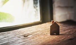 Домашняя древесина формы кроме окна Стоковое Изображение RF