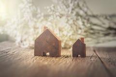 Домашняя древесина формы кроме окна Стоковое Фото