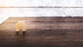 Домашняя древесина формы Стоковое Изображение