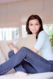 домашняя женщина Стоковое Изображение RF
