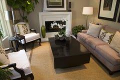 домашняя живущая роскошная комната Стоковое Изображение RF