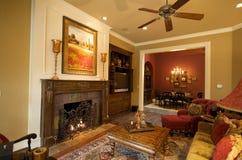 домашняя живущая роскошная комната s Стоковые Изображения RF