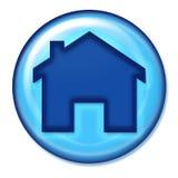 домашняя икона Стоковые Изображения RF