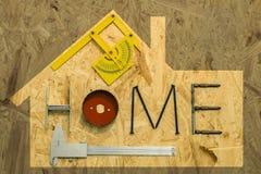 Домашняя концепция реновации Стоковое Изображение RF