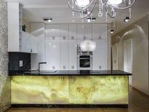 Домашняя кухня Стоковое Изображение