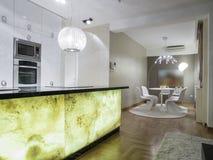 Домашняя кухня Стоковые Изображения RF