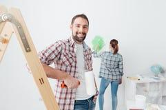 Домашняя модернизация стоковое фото