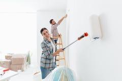 Домашняя модернизация стоковая фотография rf