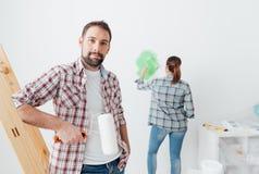 Домашняя модернизация стоковые изображения