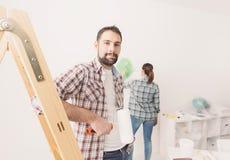 Домашняя модернизация стоковые фото