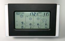 домашняя погода станции Стоковое Изображение