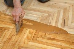 Домашняя реновация, отделка партера Стоковая Фотография RF