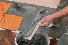 Домашняя реновация, плитки Стоковые Фотографии RF