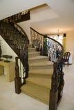 домашняя роскошная лестница Стоковые Фотографии RF