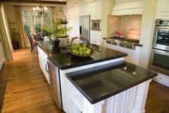 домашняя роскошь кухни Стоковое Фото