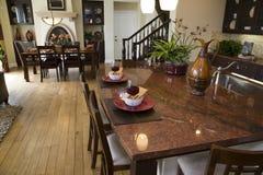 домашняя роскошь кухни Стоковые Фотографии RF