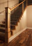 домашняя самомоднейшая новая лестница Стоковое Фото