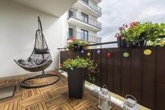 Домашняя терраса стоковое изображение rf