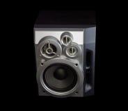 Домашняя трехсторонняя акустическая система на темной предпосылке Стоковые Фотографии RF