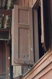 Домашняя форточка сельский Таиланд стоковое изображение rf